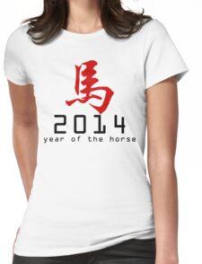 Asian Oriental Chinese Zodiac Horse T-Shirt 2014 Womens Fitted T-Shirt