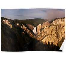 Artist Point -Yellowstone National Park Poster