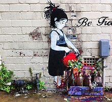 Be Free Graffiti, Fairfield by Roz McQuillan
