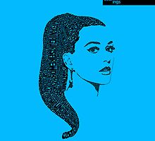 Katy Perry Blue by seanings