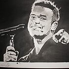 Robbie Williams by Colin  Laing