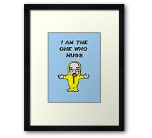 The One Who Hugs Framed Print