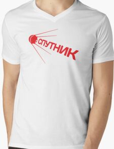 Sputnik 1957 Special Mens V-Neck T-Shirt