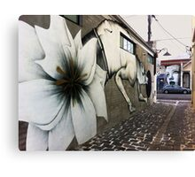 Collingwood Graffiti Canvas Print