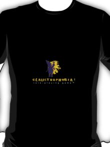 Claustrophobia! Role-Playing Game Logo T-Shirt