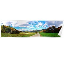 Autumn Panorama Poster