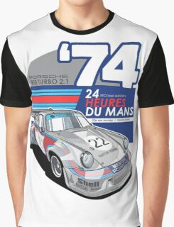 PORSCHE - 911 RSR GROUP S Graphic T-Shirt