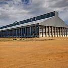 Grain Shed Boorowa  NSW  Australia  by Kym Bradley