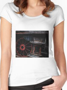 Steam Wheels  Women's Fitted Scoop T-Shirt