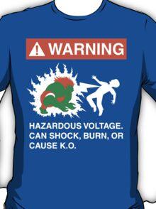 Electric Shock Hazard T-Shirt