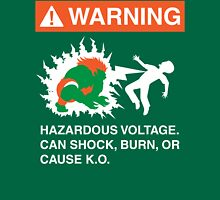 Electric Shock Hazard Unisex T-Shirt