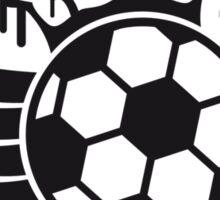 Soccer Blazon Logo Graffiti Sticker