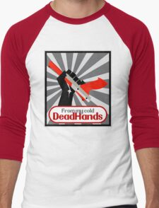 From my cold, dead hands! Men's Baseball ¾ T-Shirt