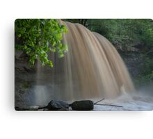 Rock Glen Deluge Canvas Print