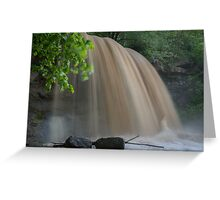 Rock Glen Deluge Greeting Card