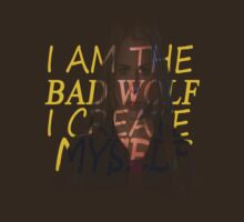 I am the Bad Wolf, I Create Myself by LaainStudios