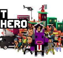 Not a Hero Sticker