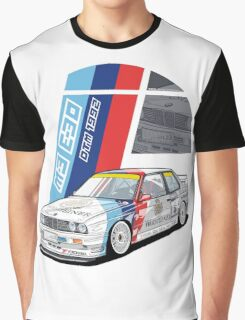 BMW - M3 E30 DTM Graphic T-Shirt