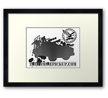 D.U.R. Zombie Containment Unit Framed Print