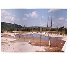 Opalescent Pool - Yellowstone National Park Poster