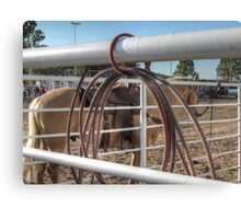 All In the Tack Canvas Print