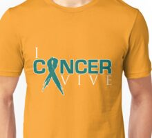 I Can Survive - Ovarian Cancer Unisex T-Shirt