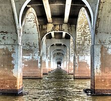 Under 21st Street Bridge by bannercgtl10
