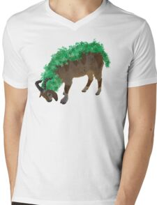 Gogoat Mens V-Neck T-Shirt