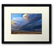 The Storm Is Coming Framed Print