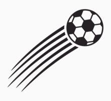 Fast Flying Soccer Ball by Style-O-Mat