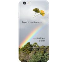 Rainbow over Dorje Ling Retreat Centre. iPhone Case/Skin