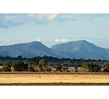 Nandewar Range from Eulah Creek Road Photographic Print