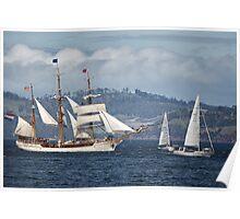 Sailing Ship Europa #9 Poster