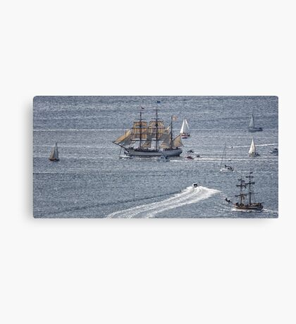 Sailing Ship Europa #6 Canvas Print