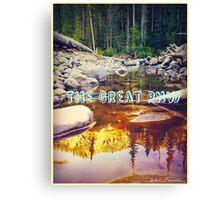 The Great PNW Bigfoot Sighting Canvas Print