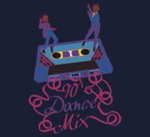 90's Dance Mix  Kids Tee