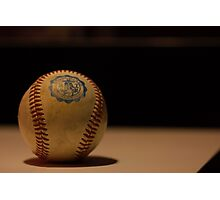 The Game Ball Photographic Print