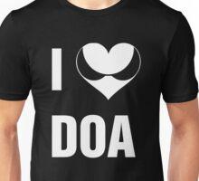 I Heart DOA (White Text) Unisex T-Shirt