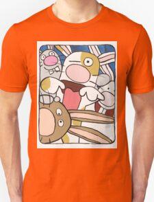 Awesome Bunny Photobooth #3 of 4 Unisex T-Shirt