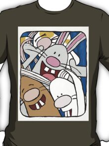 Awesome Bunny Photobooth #1 of 4 T-Shirt