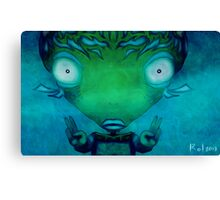 Zen Fishman Canvas Print