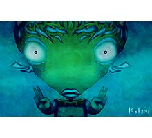 Zen Fishman Photographic Print