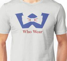Who Wear Unisex T-Shirt
