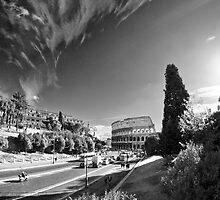 Via dei Fori Imperiali - Roma by Andre Gascoigne