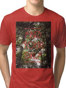 Find Your Self Tri-blend T-Shirt