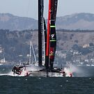 Exciting Moments of 2013 America's Cup Finals by fototaker