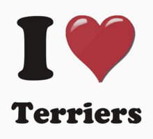 I Heart Terriers by HighDesign