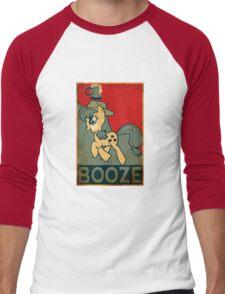 Applejack Booze Men's Baseball ¾ T-Shirt