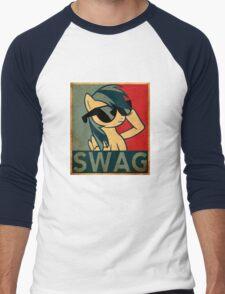 Rainbow Dash Swag Men's Baseball ¾ T-Shirt
