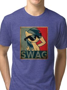 Rainbow Dash Swag Tri-blend T-Shirt